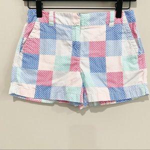 VINEYARD VINES Girls Whale Patchwork Shorts